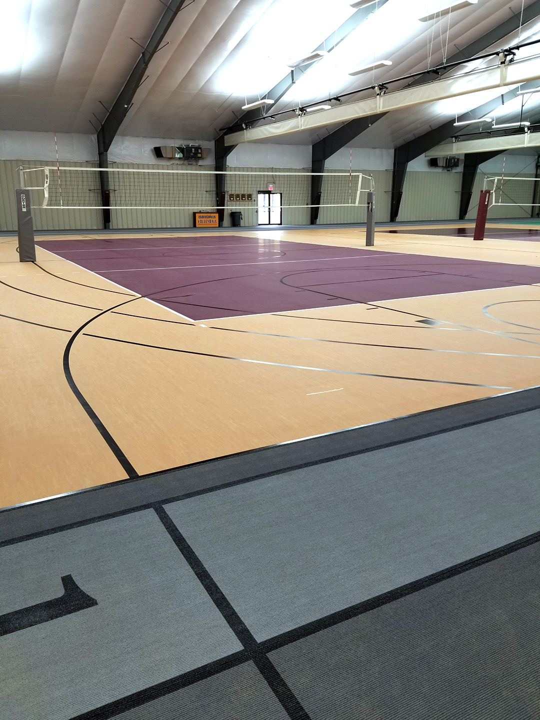 Indian Hills Community College Volleyball Flooring