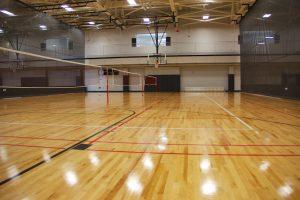 Purdue University Rec Volleyball Wood Flooring