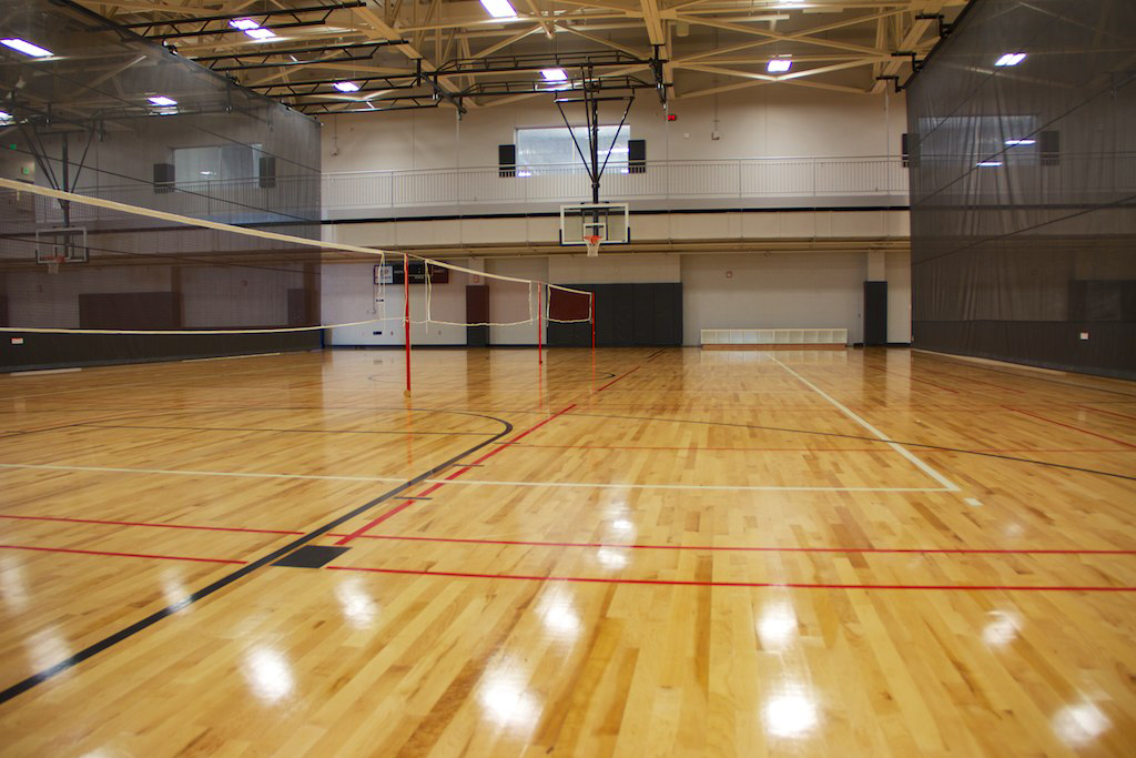 Purdue University Rec Volleyball Wood Flooring