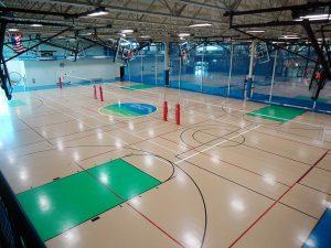 Pleasant Prairie Rec Plex Gymnasium Flooring