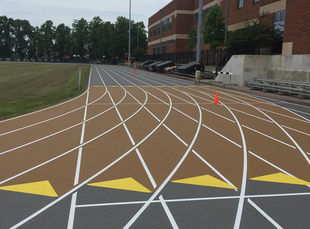 Vanderbilt University Running Track