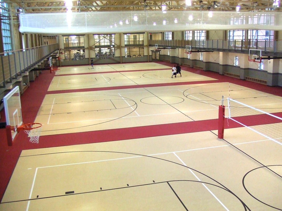 Youngstown State University Volleyball Gymnasium Flooring