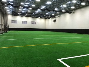 Ball State University indoor turf field