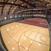 Earlham College Gym Flooring