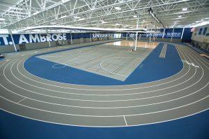 St. Ambrose University - sports flooring