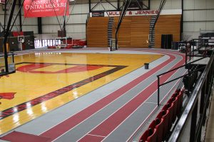 University of Central Missouri gym flooring