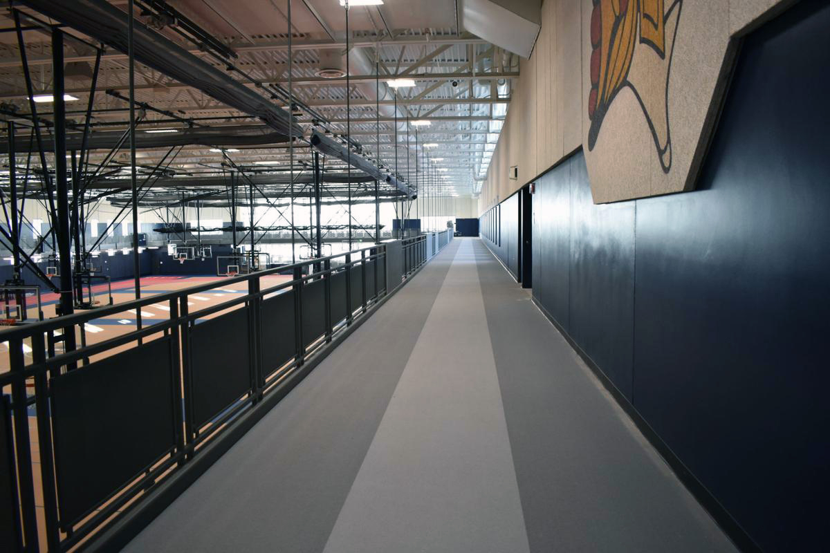 Orono High School - Elevated Track