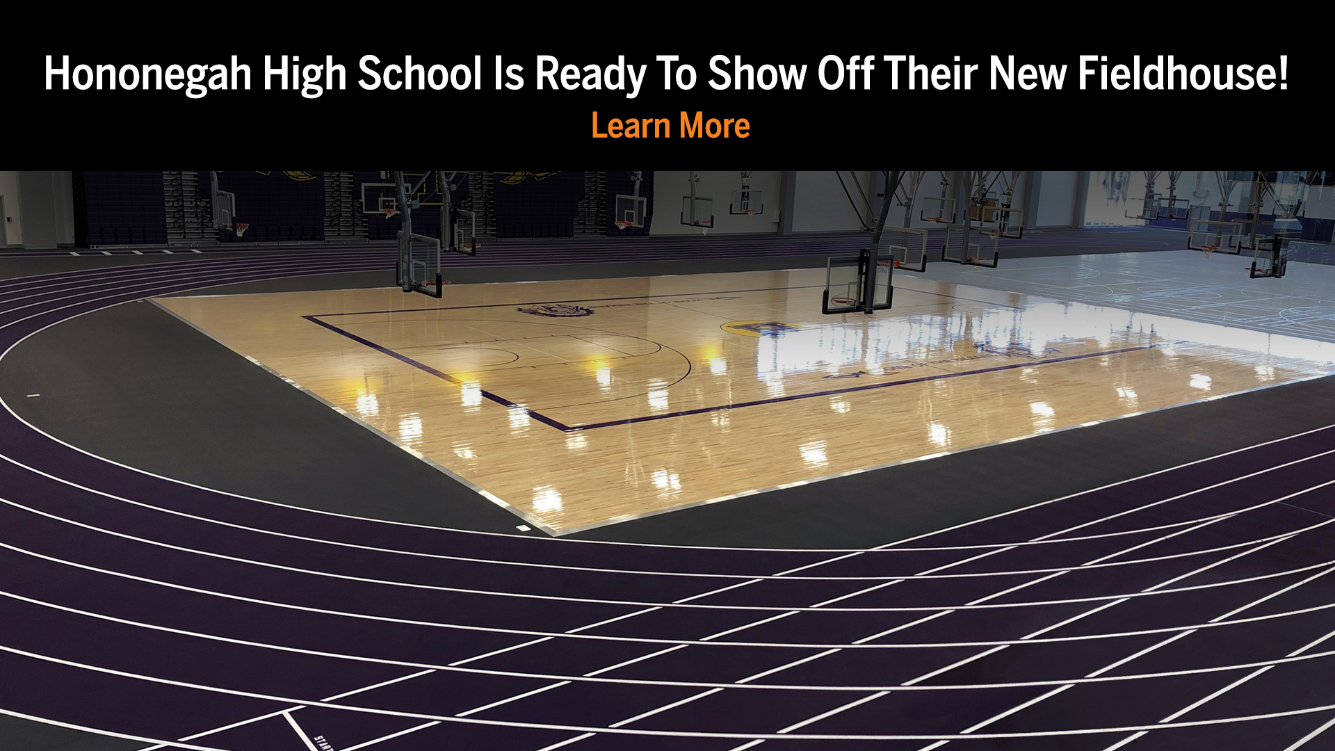 Hononegah High School Is Ready To Show Off Their New Fieldhouse!