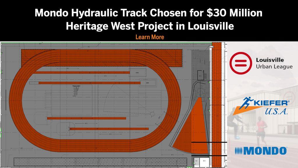 Mondo hydraulic banked track