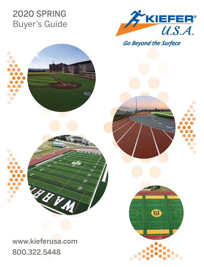 KieferUSA April 2020 Catalog Cover