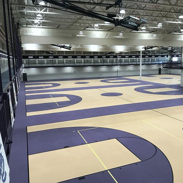 Bellevue Schools Lied Center Gym Flooring