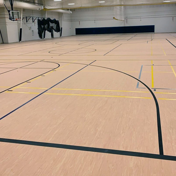 Como Park High School Gymnasium Flooring
