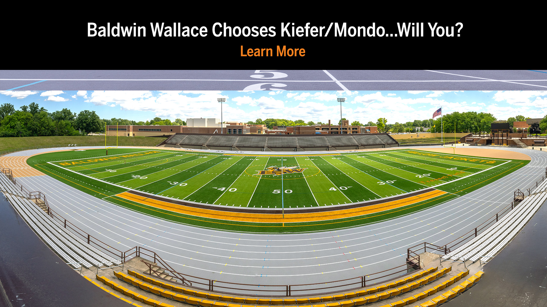 Baldwin Wallace University New Outdoor Track