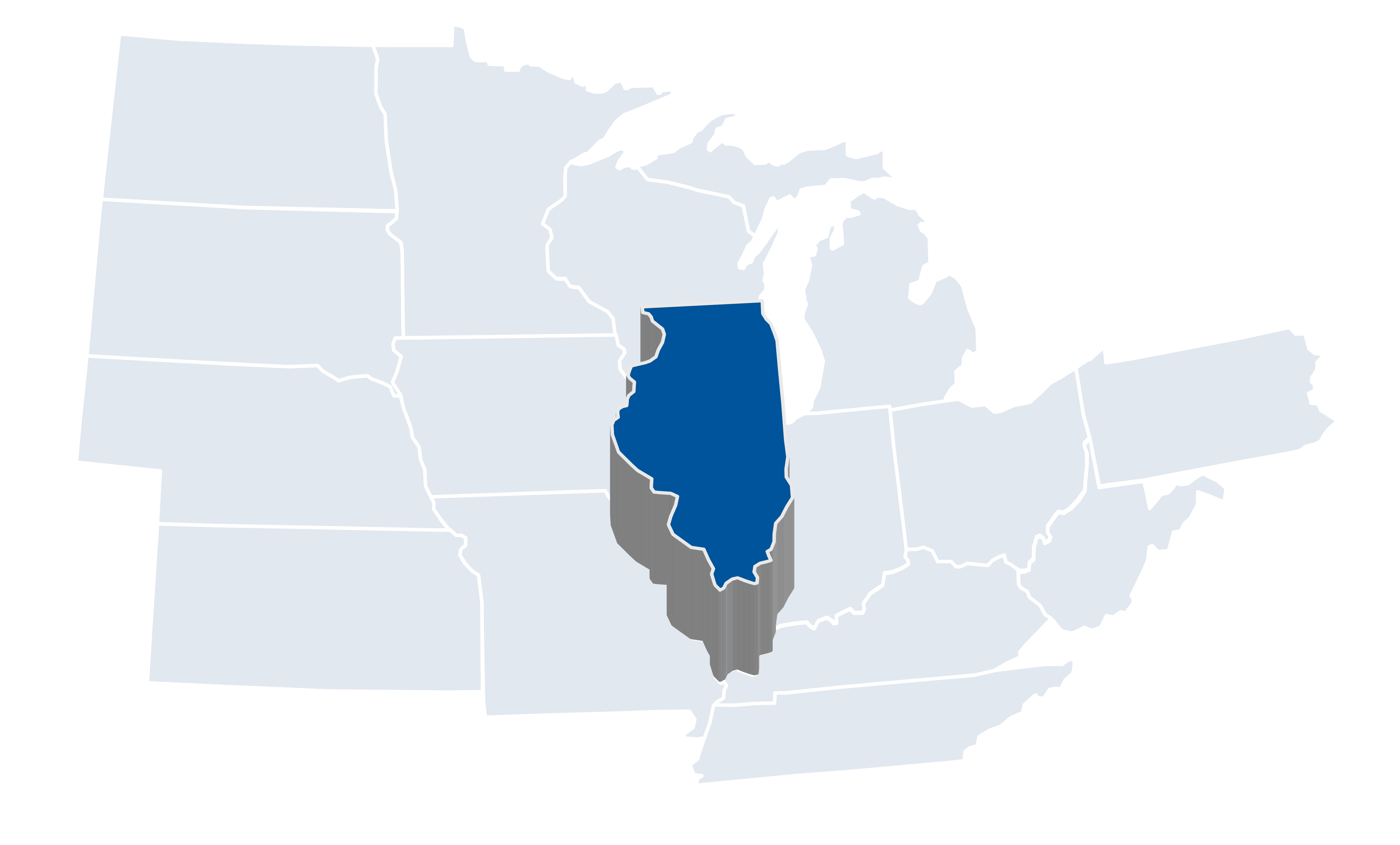 Illinois Map