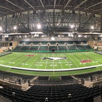 Alerus Center Installed A Permanent Artificial Turf System