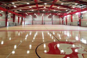 Fieldhouse sports flooring