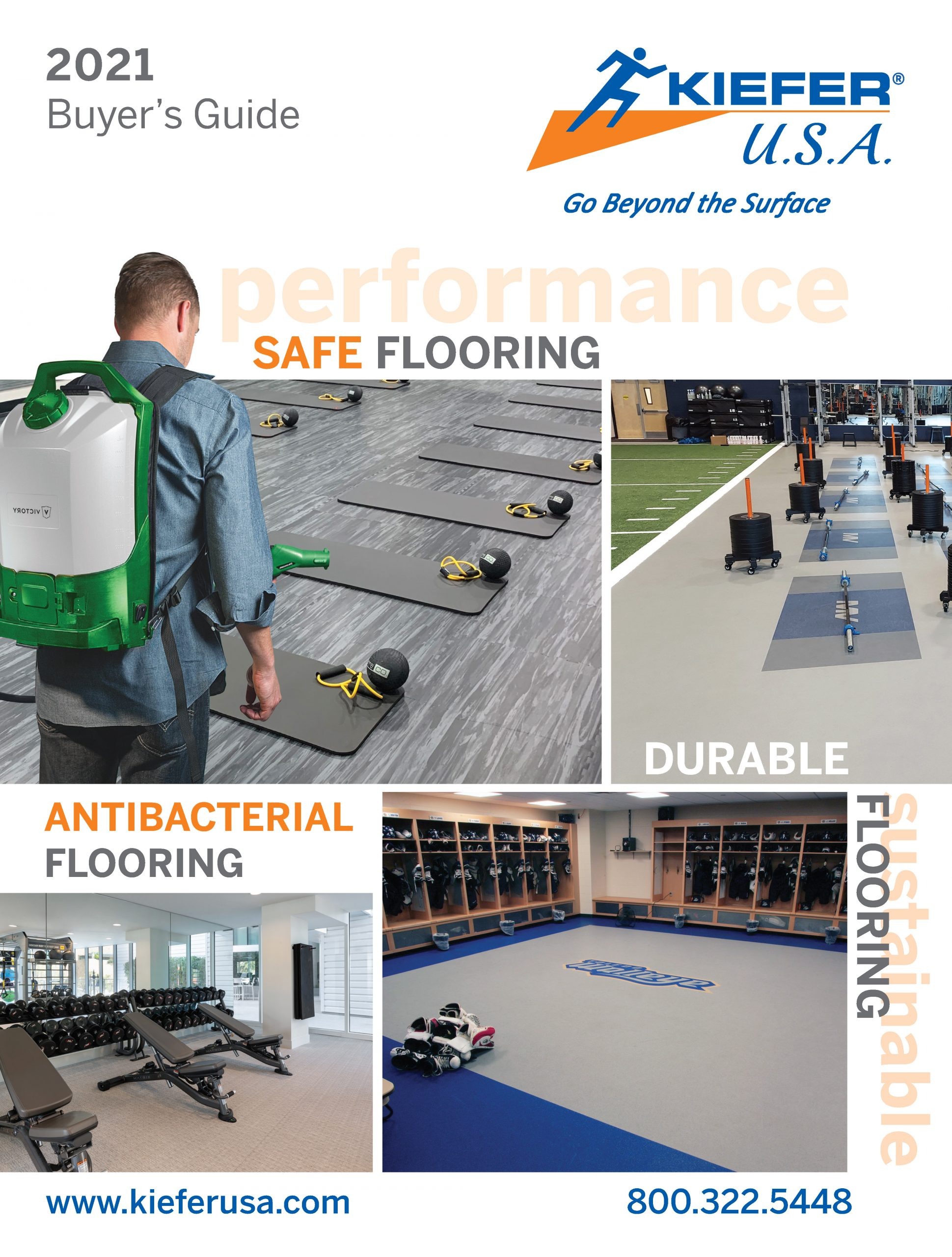 KieferUSA April 2020 Catalog Cover